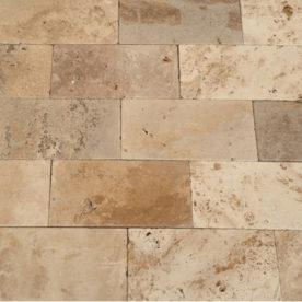 Mozaic Antichizat Travertin Rustic
