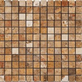 Mozaic Antichizat Travertin Scabas