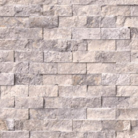 Mozaic Scapitat Travertin Silver