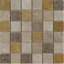 Mozaic Travertin noche yellow
