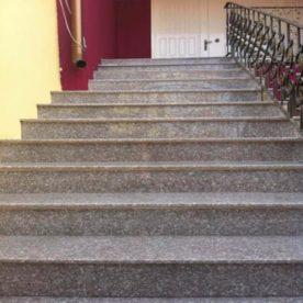 Trepte exterior Granit