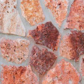 piatra naturala rosie