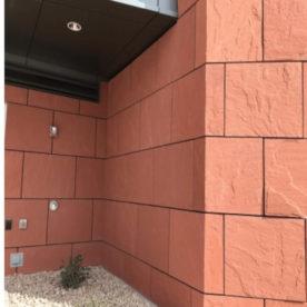 piatra naturala rosie placare perete