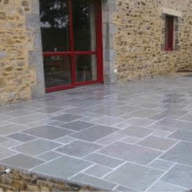 sandstone pavaj curte